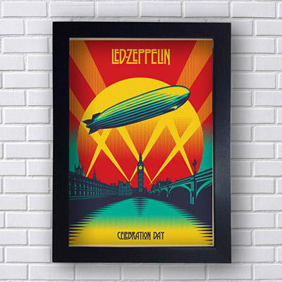 Quadro Led Zeppelin Celebration Day