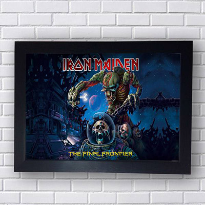 Quadro Iron Maiden The Final Frontier