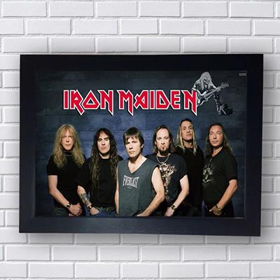Quadro Iron Maiden Poster