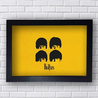 Quadro Decorativo The Beatles