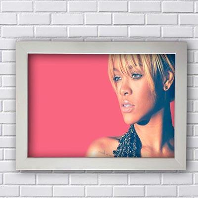 Quadro Poster Rihanna