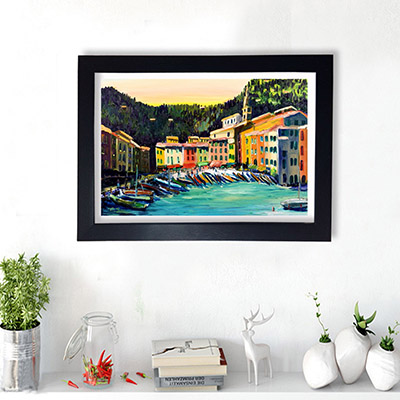 Quadro Decorativo Beira Mar