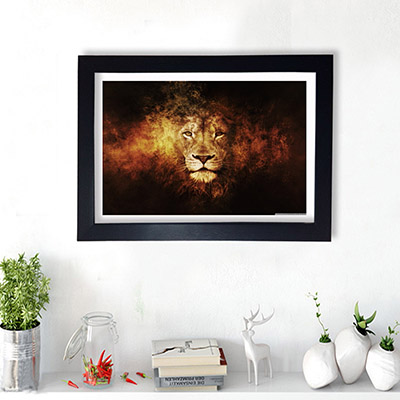Quadro Decorativo Leão da Tribo de Judá
