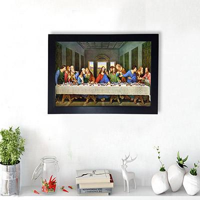 Quadro Decorativo Santa Ceia