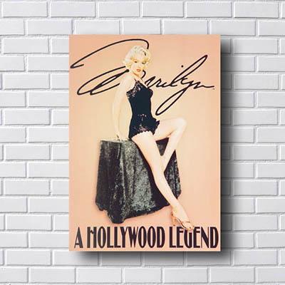 Quadro Decorativo Marilyn Hollywood