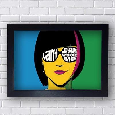 Quadro Pop Art Mulher