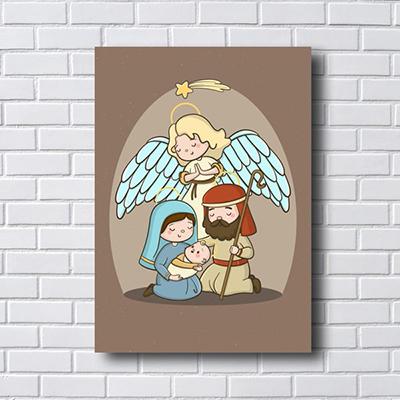 Quadro Decorativo Nascimento de Jesus