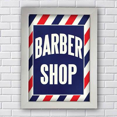 Quadro Decorativo Barber Shop