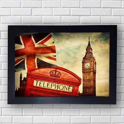 Quadro Decorativo Londres Big Ben