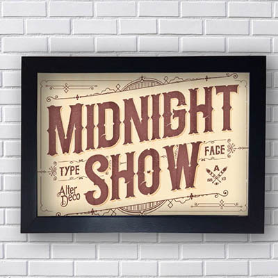 Quadro Decorativo Midnight Show
