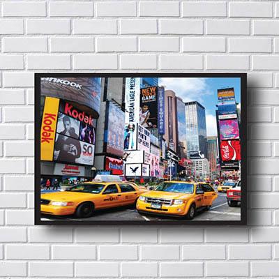 Quadro Decorativo Wall Street